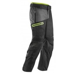Pantalone da turismo ACERBIS Enduro One Baggy colore nero-giallo fluo