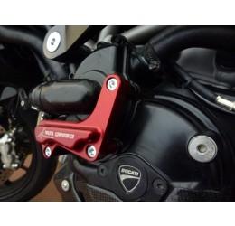 Coperchio pompa acqua in ergal ricavato dal pieno 4Racing per Ducati Hypermotard 821 13-16 - Multistrada 1200 10-15