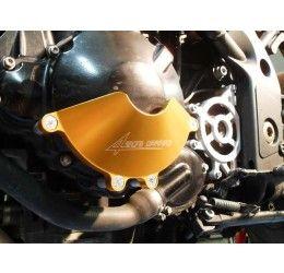 Coperchio volano in ergal ricavato dal pieno 4Racing per Triumph Speed Triple 1050 06-10