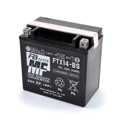 Batteria FURUKAWA FTX14-BS da 12V/14AH (150x87x145)