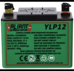 Batteria compatta ultraleggera al litio Aliant modello ULTRALIGHT Y-LP12 (750g fino a 3000cicli carica/scarica)