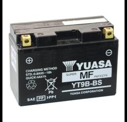 Batteria Yuasa YT9B-BS da 12V/8AH (170x50x105)