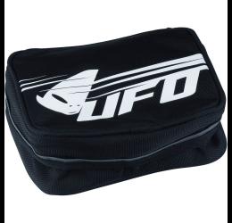 Borsa da parafango posteriore Enduro-Cross UFO porta-attrezzi grande (Lunghezza 22cm x Larghezza 14cm x Altezza 8/11.5cm)