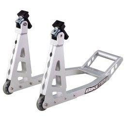 Cavalletto anteriore in alluminio ultraligth BikeIt basculante universale alta qualità