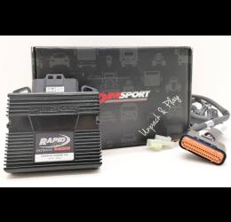 Centralina Rapid Bike RACING EXCLUSIVE (comprende cablaggio specifico) per Honda CBR 300 R 14-17 (cod. KRBRAC-084-EX)
