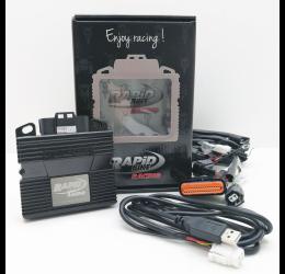 Centralina Rapid Bike RACING (comprende cablaggio specifico) per Honda VFR 800 98-01 (cod. KRBRAC-110)(i modelli 98-99 sono senza sonda lambda)