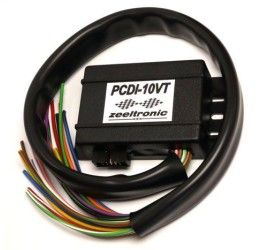 Centralina Zeeltronic UNICA gestione anticipo + valvole + CDI programmabile Kawasaki KR1S PCDI-10VT con connettori PLUG and PLAY