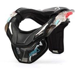 Collare LEATT Neck Brace SNX Clear Black - Medium