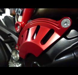 Coperchio frizione in ergal ricavato dal pieno 4Racing per Ducati Hypermotard / Hyperstrada 821 13-16