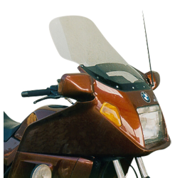 Vetro Cupolino plexyglass MRA modello Arizona per BMW K 75 RT 86-97/K 100 LT 83-94/K 100 RT 83-94 (per moto con strumentazione standard - non usare su moto con pannello strumenti aggiuntivo)