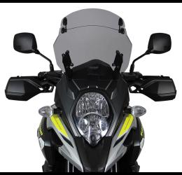 Vetro Cupolino plexyglass MRA modello con spoiler Multi-X-Creen per Suzuki V-Strom 1000 / XT 17-> (385x390mm)