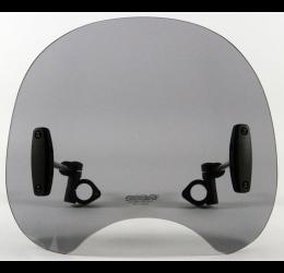 Vetro Cupolino plexyglass MRA modello ROC RoadShield Classic 380x320mm (NON COMPRENDE KIT ATTACCHI DA ACQUISTARE A PARTE)