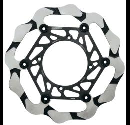 Disco freno anteriore Braking BATFLY ALUMINIUM CROSS a margherita flottante (1 disco) BY4127 ORIGINALE