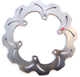 Disco freno posteriore Braking W-FIX a margherita fisso (1 disco) WF8501