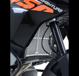 Griglia radiatore acqua Faster96 by RG per KTM 1050 Adventure 15-> in acciaio inox