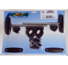 Kit attacchi HKS30 per fissaggio cupolino plexyglass MRA (Da abbinare a un cupolino MRA venduto a parte)