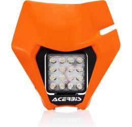 Mascherina portafaro a led Acerbis VSL per KTM 150 EXC TPI 20-21 colore arancione KTM