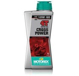 Olio motore Motorex Cross Power 4T 10W60 1L