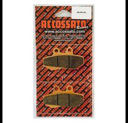 Pastiglie freno Accossato - Mescola OR organica AGPA70OR