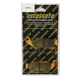 Pastiglie freno Accossato - Mescola ST sinterizzata Strada AGPA51ST