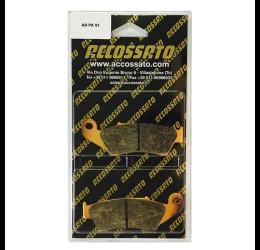 Pastiglie freno Accossato - Mescola STMX sinterizzata Off-Road AGPA51STMX