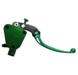 Pompa freno radiale Accossato PRS 3 interassi regolabili 19X17-18-19 con serbatoio integrato e leva colorata