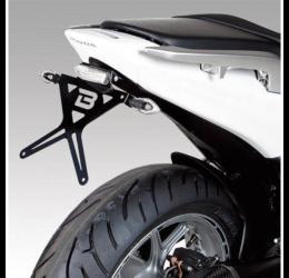Kit Portatarga Barracuda per Honda INTEGRA 700 12-13 regolabile con faro posteriore