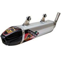 Silenziatore Fresco Carby in alluminio con fondello in carbonio per Sherco 125 SE-R 18-21