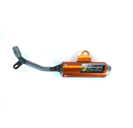 Silenziatore HGS in alluminio per Husqvarna TC 50 17-21 arancione
