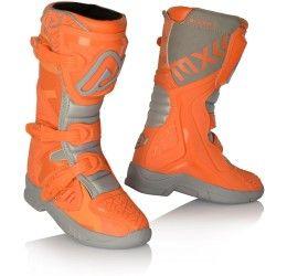 Stivali cross enduro Acerbis X-Team Kid arancio-grigio collezione 2021